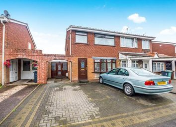 Thumbnail 3 bedroom semi-detached house for sale in Langmead Close, Walsall, West Midlands