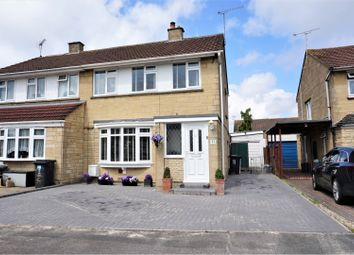 Thumbnail 3 bed semi-detached house for sale in Pentridge Close, Swindon