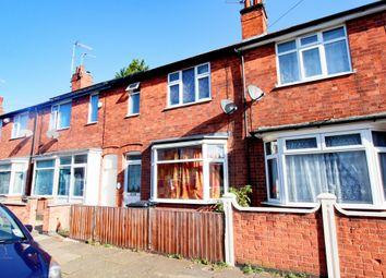 Thumbnail 3 bed terraced house for sale in Prestwold Road, Leicester