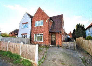 Thumbnail 3 bedroom semi-detached house to rent in Meriden Avenue, Beeston, Nottingham
