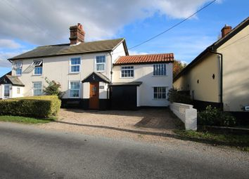 Thumbnail 2 bed semi-detached house for sale in Mill Road, Banham, Norwich