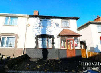 Thumbnail 3 bed semi-detached house for sale in Graham Road, West Bromwich