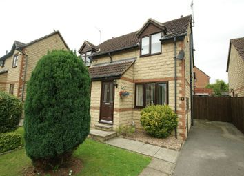 Thumbnail 2 bedroom semi-detached house for sale in Poppy Close, Shirebrook, Mansfield