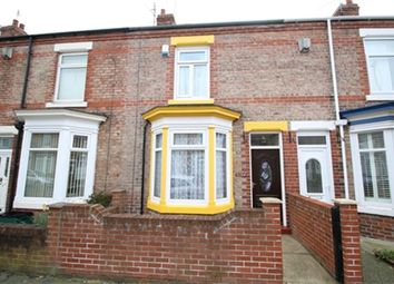 Thumbnail 2 bed terraced house to rent in Eastbourne Road, Darlington, County Durham