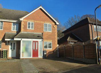 Thumbnail 3 bedroom end terrace house for sale in Shorehaven, Cosham, Portsmouth