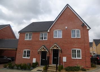 Thumbnail 3 bedroom semi-detached house for sale in Parker Crescent, Sawtry, Huntingdon