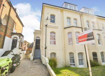 Thumbnail 2 bed flat for sale in Cheriton Road, Folkestone, Kent, .
