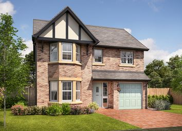 "Thumbnail 4 bed detached house for sale in ""Boston"" at Mayfield Avenue, Throckley, Newcastle Upon Tyne"