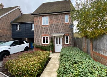 Thumbnail 3 bed semi-detached house to rent in Tithing Road, Elvetham Heath, Fleet