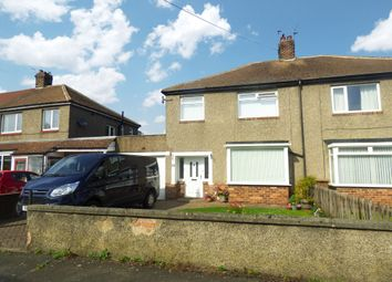 Thumbnail 3 bed semi-detached house for sale in Harriot Drive, West Moor, Newcastle Upon Tyne