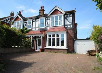 Thumbnail 4 bedroom semi-detached house for sale in Langton Road, Worthing, West Sussex