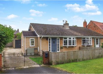 Thumbnail 2 bed semi-detached bungalow for sale in Gale Road, Alne