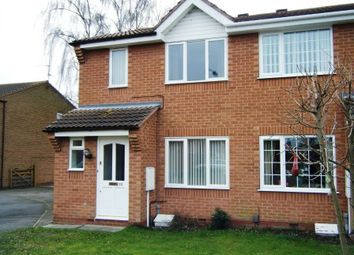 Thumbnail 3 bed semi-detached house to rent in Centenary Close, New Balderton, Newark