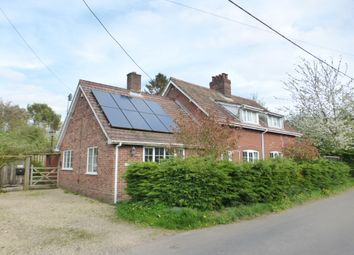 Thumbnail 4 bed detached house for sale in Hawkes Lane, Bracon Ash, Norwich