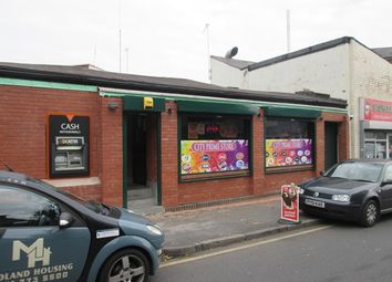 Thumbnail Commercial property to let in Convenience Store, Wrentham Street, Digbeth