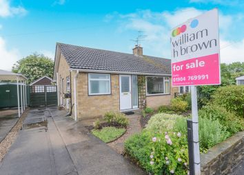 Thumbnail 2 bedroom semi-detached bungalow for sale in South Down Road, Huntington, York