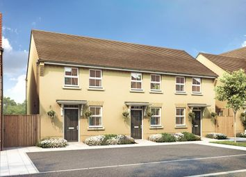 "Thumbnail 2 bedroom end terrace house for sale in ""Wilford"" at Barley Fields, Thornbury, Bristol"