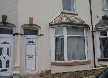 Thumbnail 3 bedroom property to rent in Warren Street, Fleetwood, Lancashire