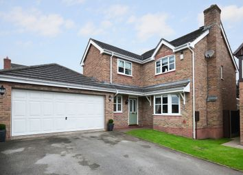 Thumbnail 4 bed detached house for sale in Merino Close, Lightwood, Stoke-On-Trent