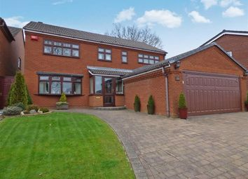 Thumbnail 4 bed detached house for sale in Holder Drive, Cannock, Staffordshire