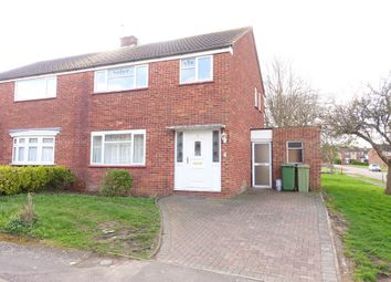 Thumbnail 3 bed semi-detached house to rent in Cleeve Crescent, West Bletchley, Milton Keynes