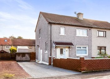 Thumbnail 2 bed semi-detached house for sale in South Pilmuir Road, Clackmannan