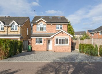 Thumbnail 3 bedroom detached house for sale in Boulton Court, Oadby, Leicester