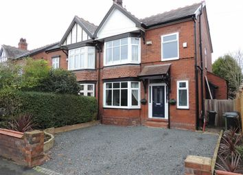 Thumbnail 3 bed semi-detached house for sale in Woodsmoor Lane, Woodsmoor, Stockport