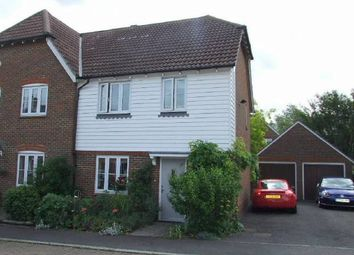 Thumbnail 3 bed property to rent in Busbridge Close, East Malling, West Malling
