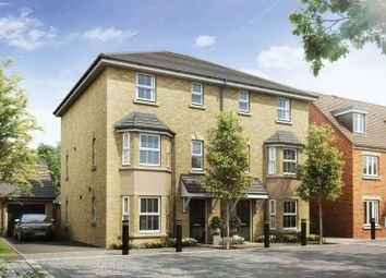 Thumbnail 4 bed semi-detached house for sale in Compton Mead, Biggleswade