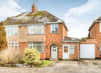 Thumbnail 3 bedroom semi-detached house for sale in Summerton Road, Whitnash, Leamington Spa, Warwickshire
