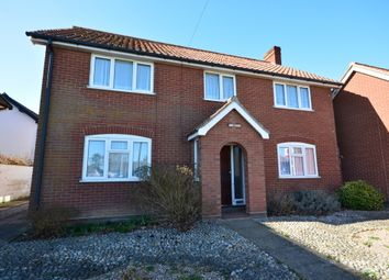 Thumbnail 4 bedroom detached house for sale in The Green, Pulham Market, Diss