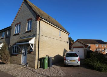 Thumbnail 3 bed link-detached house to rent in Horsley Drive, Gorleston, Norfolk