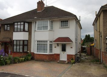 Thumbnail 4 bed semi-detached house for sale in Newport Road, Aldershot