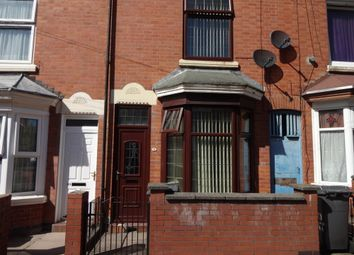 Thumbnail 2 bed terraced house for sale in Beaumont Road, Leicester, Leicestershire
