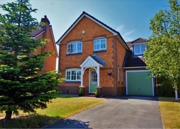 Thumbnail 4 bedroom detached house for sale in The Chase, Preston