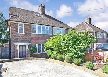 Thumbnail 3 bedroom semi-detached house for sale in Edward Road, Haywards Heath, West Sussex