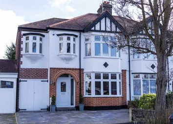 Thumbnail 4 bed semi-detached house for sale in Oak Avenue, Upminster