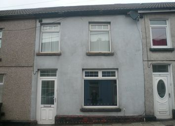 Thumbnail 3 bed terraced house to rent in Darren View, Merthyr Tydfil