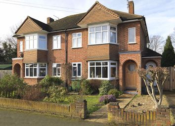 Thumbnail 2 bed flat for sale in Warwick Road, Thames Ditton