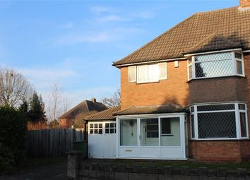 Thumbnail 3 bed semi-detached house for sale in Blandford Avenue, Castle Bromwich, Birmingham