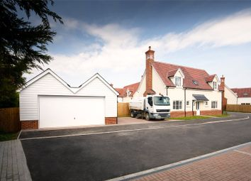 Thumbnail 4 bed detached house for sale in The Street, High Roding, Dunmow, Essex