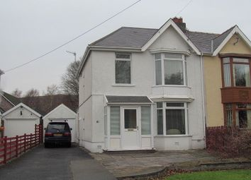 Thumbnail 3 bed semi-detached house to rent in Pontardawe Road, Clydach, Swansea.