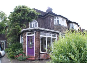 Thumbnail 3 bed semi-detached house for sale in Leigh Road, Worsley, Manchester