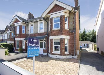 Thumbnail 3 bedroom semi-detached house for sale in North Road, Lower Parkstone, Poole
