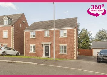 Thumbnail 4 bed detached house for sale in Nant Y Creyr, Llansamlet, Swansea