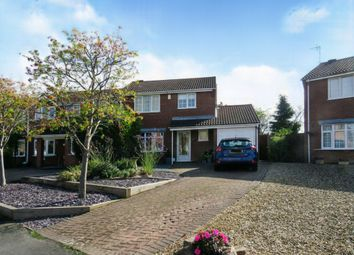 Thumbnail 3 bed detached house for sale in Spinney Halt, Whetstone, Leicester