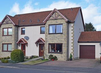 Thumbnail 3 bedroom semi-detached house for sale in Provost Mains, Abernethy, Perthshire
