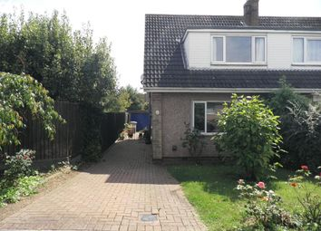 Thumbnail 3 bed semi-detached house for sale in St. Giles Close, Barton Seagrave, Kettering