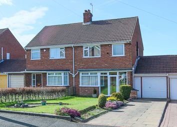 Thumbnail 3 bedroom semi-detached house for sale in Green Slade Crescent, Marlbrook, Bromsgrove